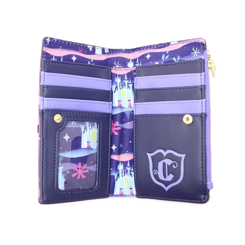 【Loungefly】シンデレラ 財布・ウォレット お城とカボチャの馬車