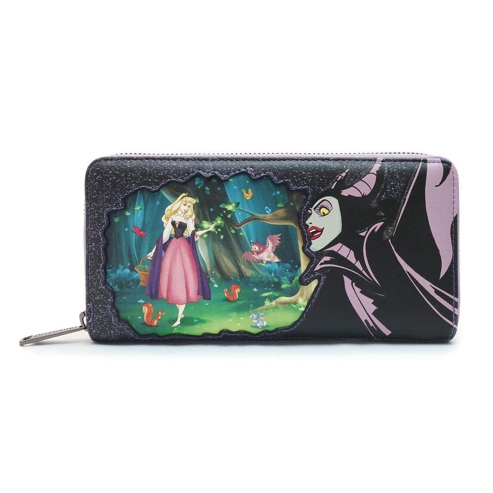 【送料無料】【Loungefly】マレフィセント 財布・ウォレット 眠れる森の美女