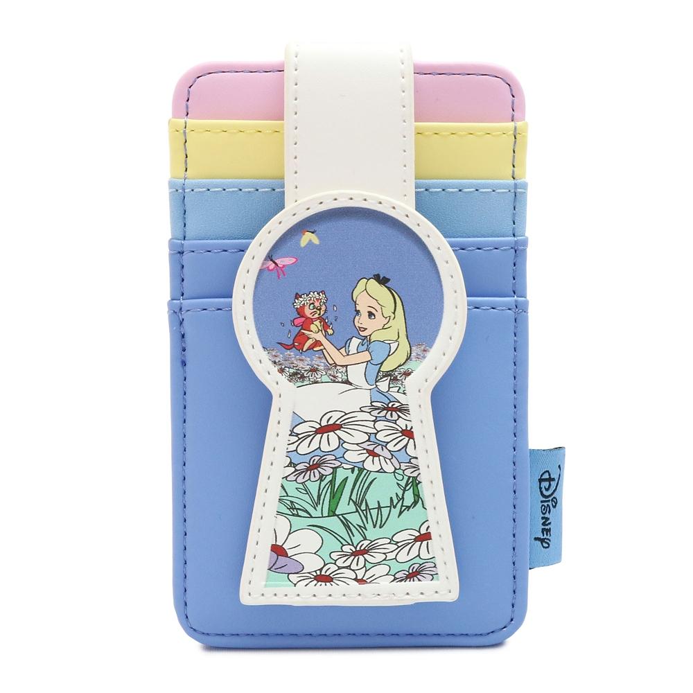 【Loungefly】アリスとダイナ カードケース ふしぎの国のアリス