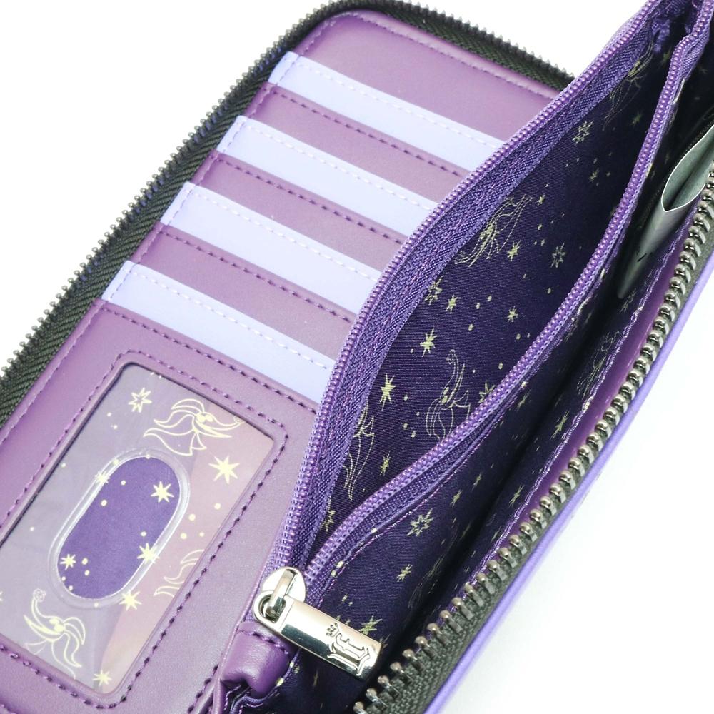 【Loungefly】ナイトメアー・ビフォア・クリスマス 財布・ウォレット ハロウィンタウンフレンズ パターン