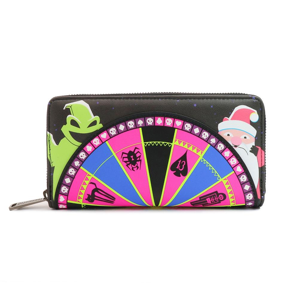 【Loungefly】ブギー 財布・ウォレット ルーレット ティム・バートン ナイトメアー・ビフォア・クリスマス
