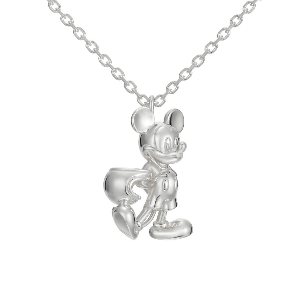 【ユートレジャー】ミッキーマウス モータースタイル ネックレスシルバー(NDYR-101)
