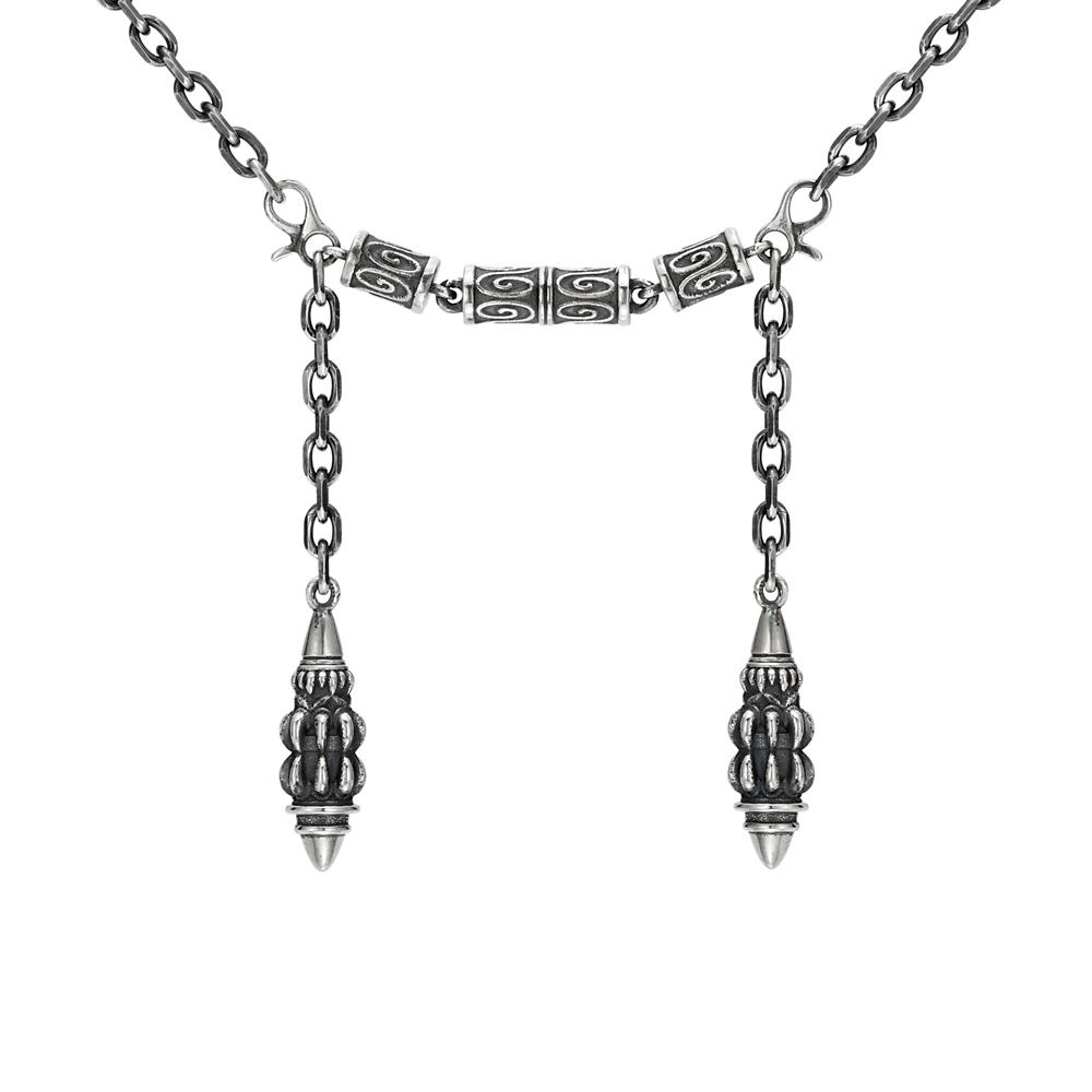 【ユートレジャー】キングダム ハーツ  狭間の者の衣 ネックレス シルバー(NDKH-317)