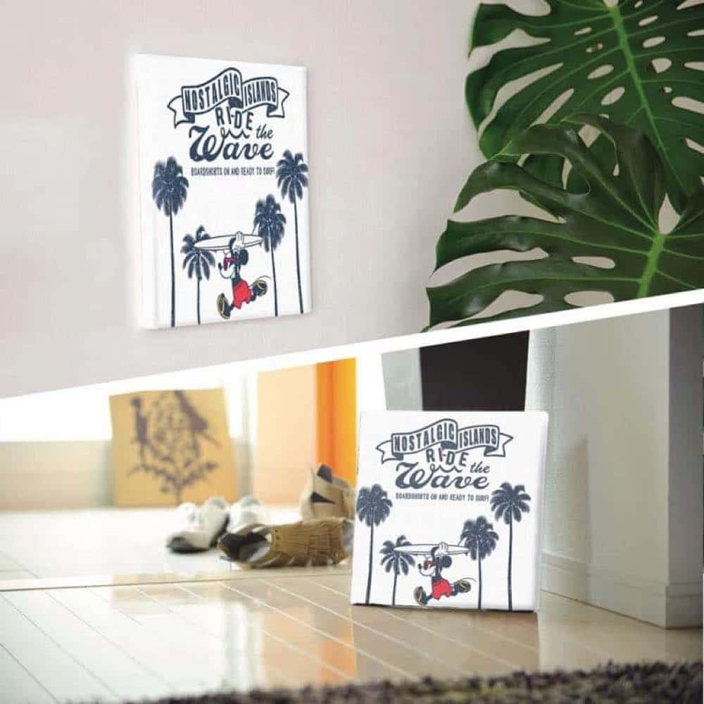 【ファブリックパネル】ミッキーマウス サーフボード 【DSNY-1705-02】