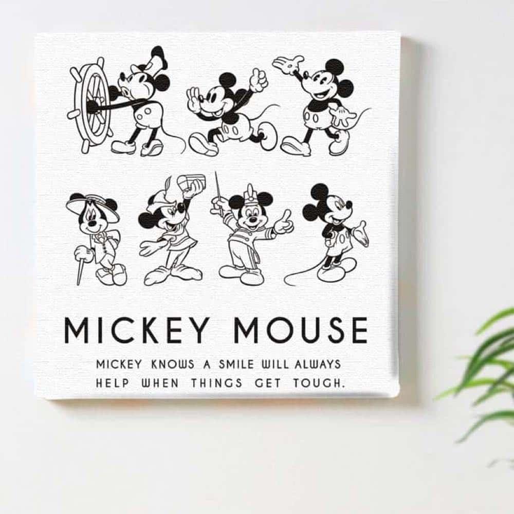【ファブリックパネル】ミッキーマウス コレクション