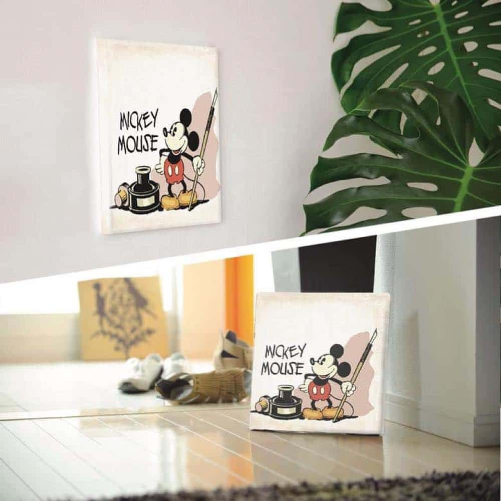 【ファブリックパネル】ミッキーマウス ペン【DSNY-1710-17】