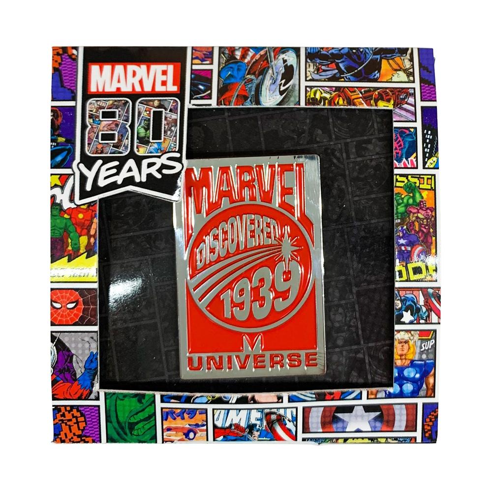 MARVEL 80YEARS ピンバッジA