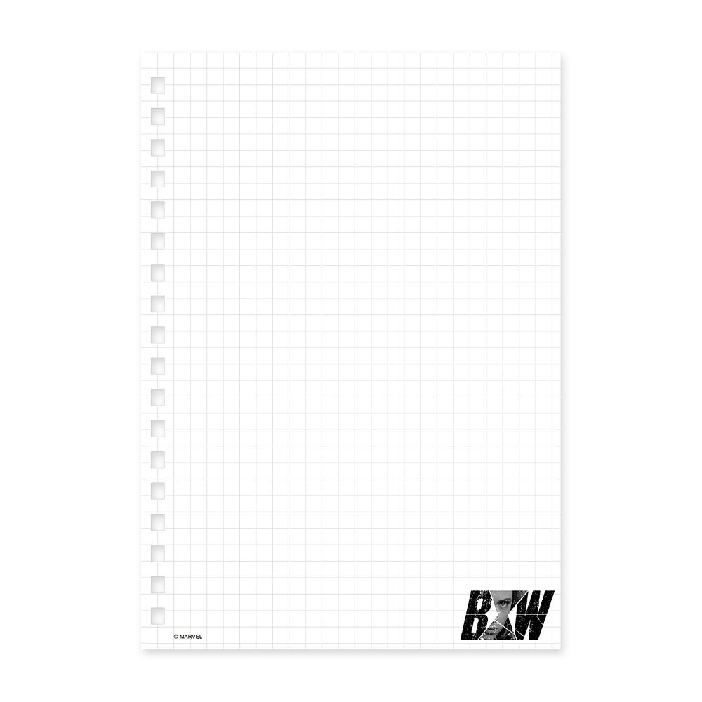 ブラック・ウィドウ ゴムバンド付きリングノート
