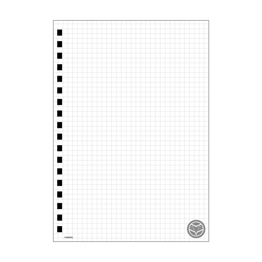 ファルコン&ウィンター・ソルジャー ゴムバンド付きリングノート
