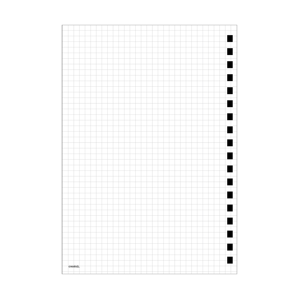 INFINITY SAGA ロキ ゴムバンド付きリングノート