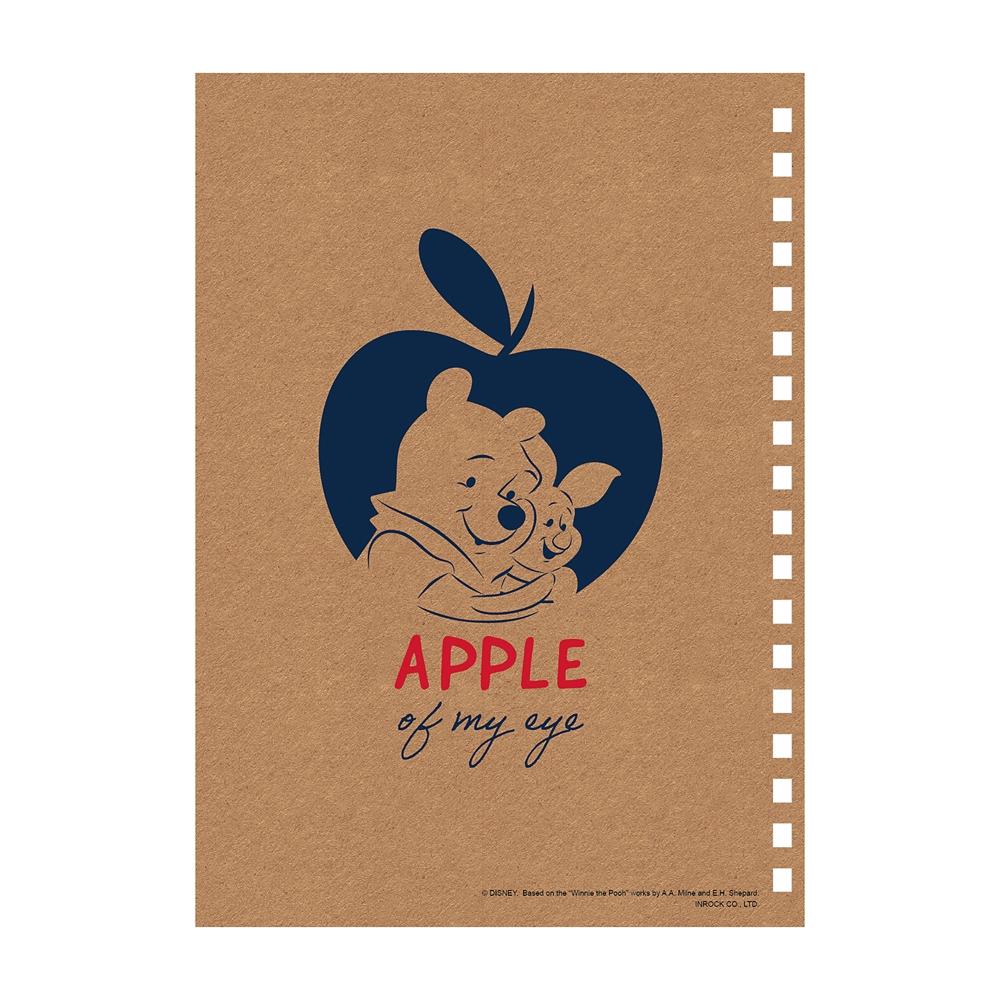 Winnie the Pooh ゴムバンド付きリングノート
