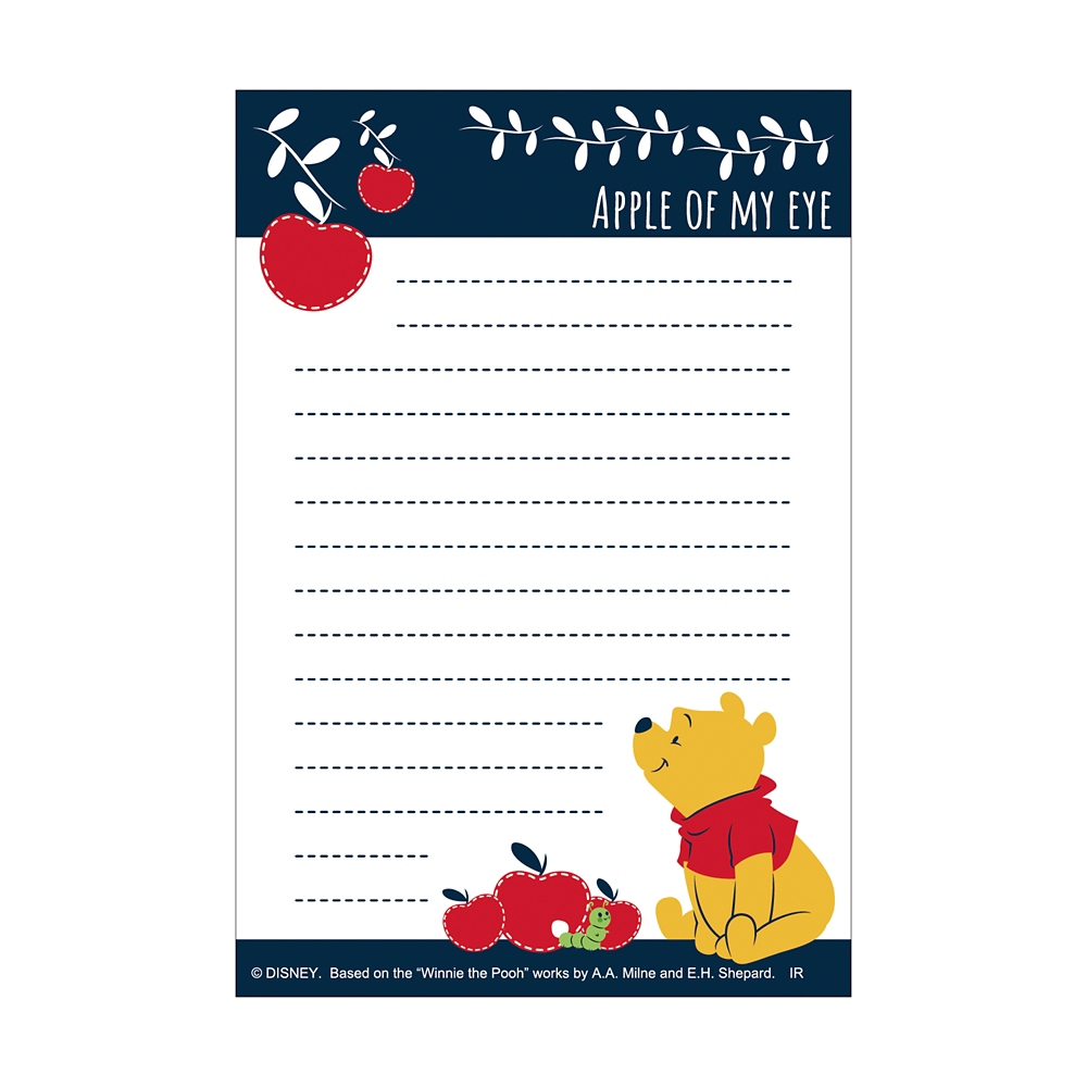 Winnie the Pooh パタパタメモ