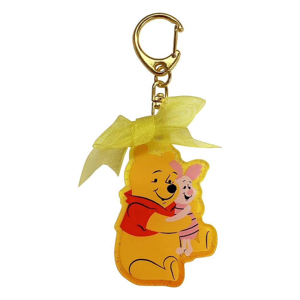Winnie the Pooh リボン付きアクリルキーホルダー
