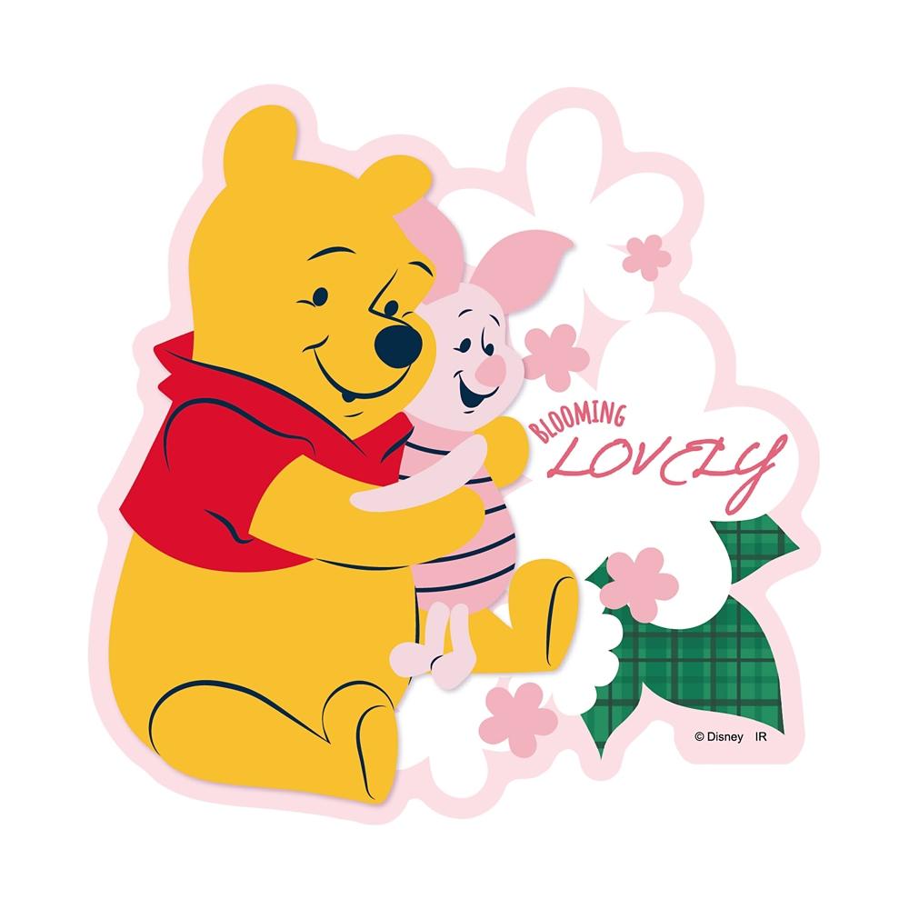 Winnie the Pooh ダイカットステッカーB