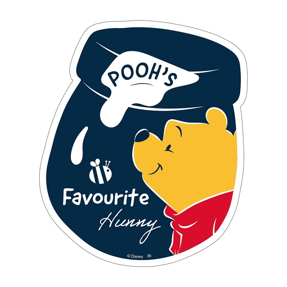 Winnie the Pooh ダイカットステッカーD