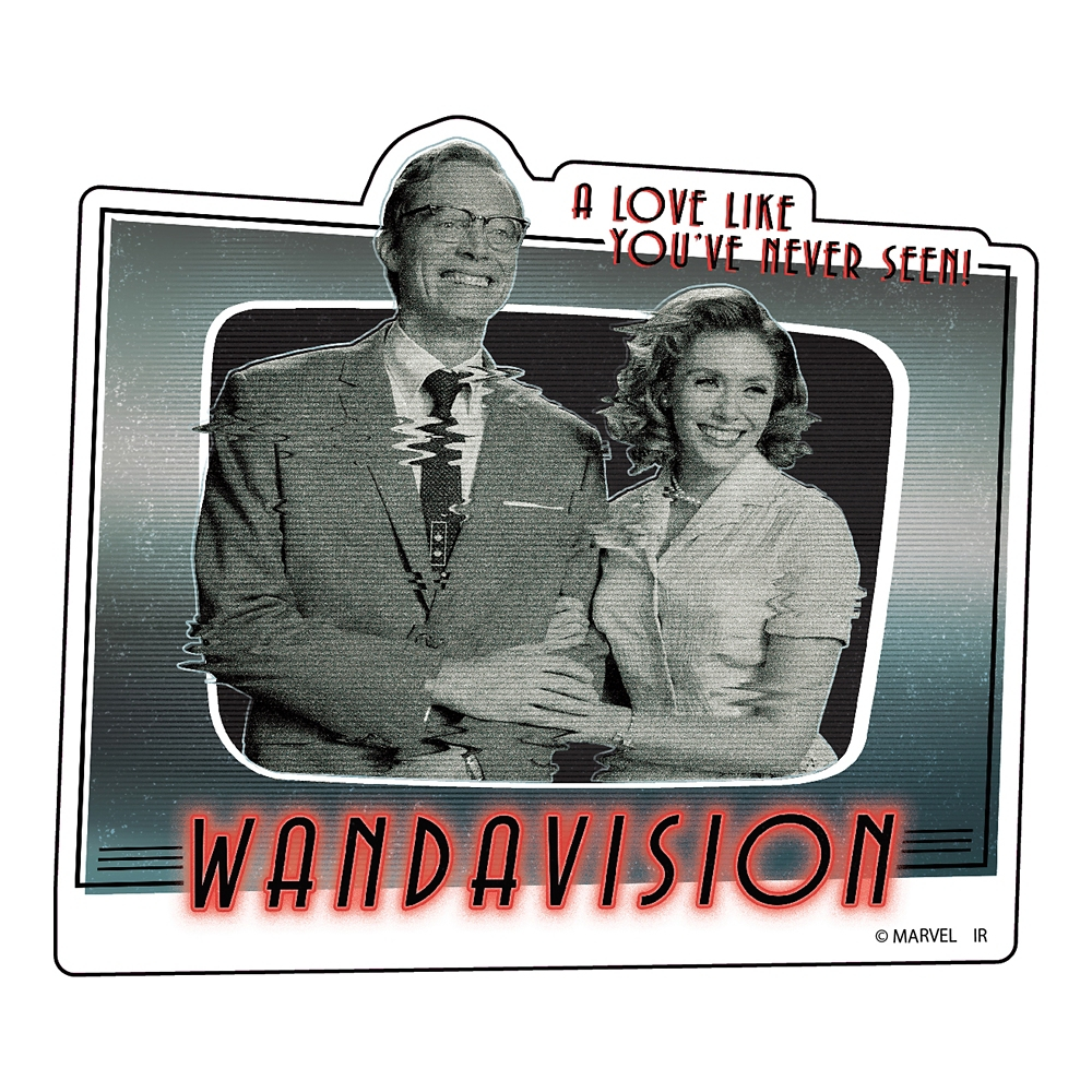 WandaVision ダイカットステッカーB