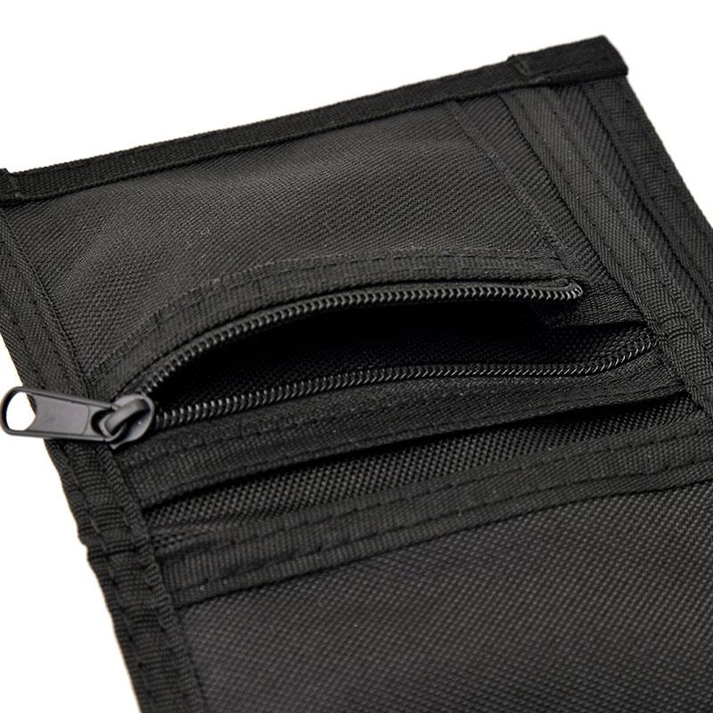 マーベル 財布・ウォレット ネックストラップ付き メッシュブラック ロゴ