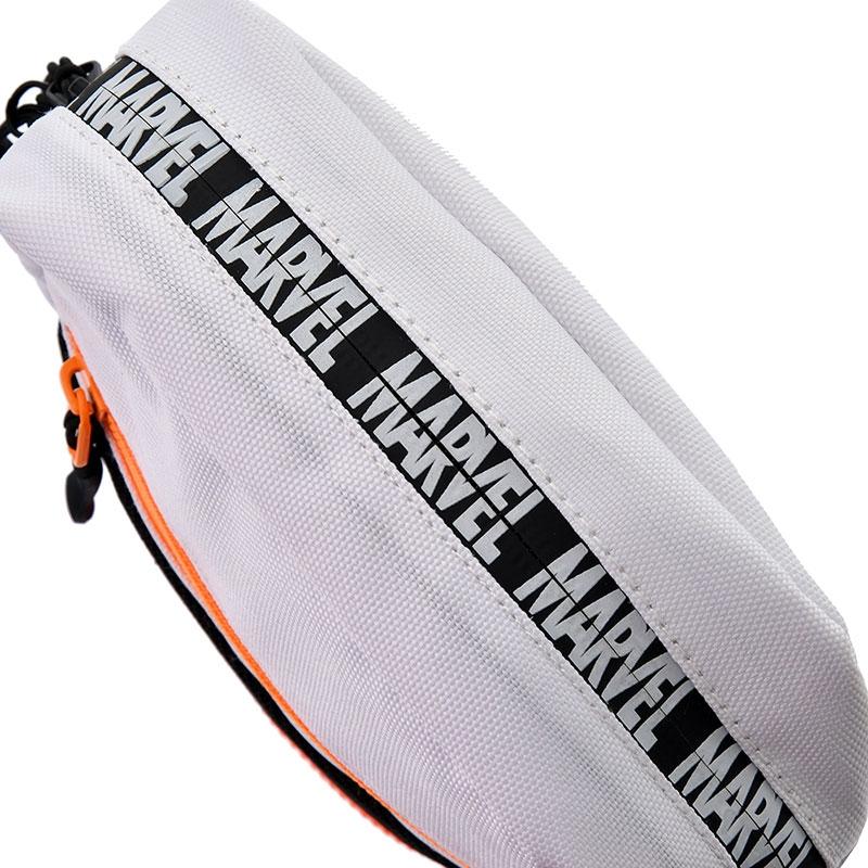 マーベル ショルダーバッグ ホワイト ロゴ