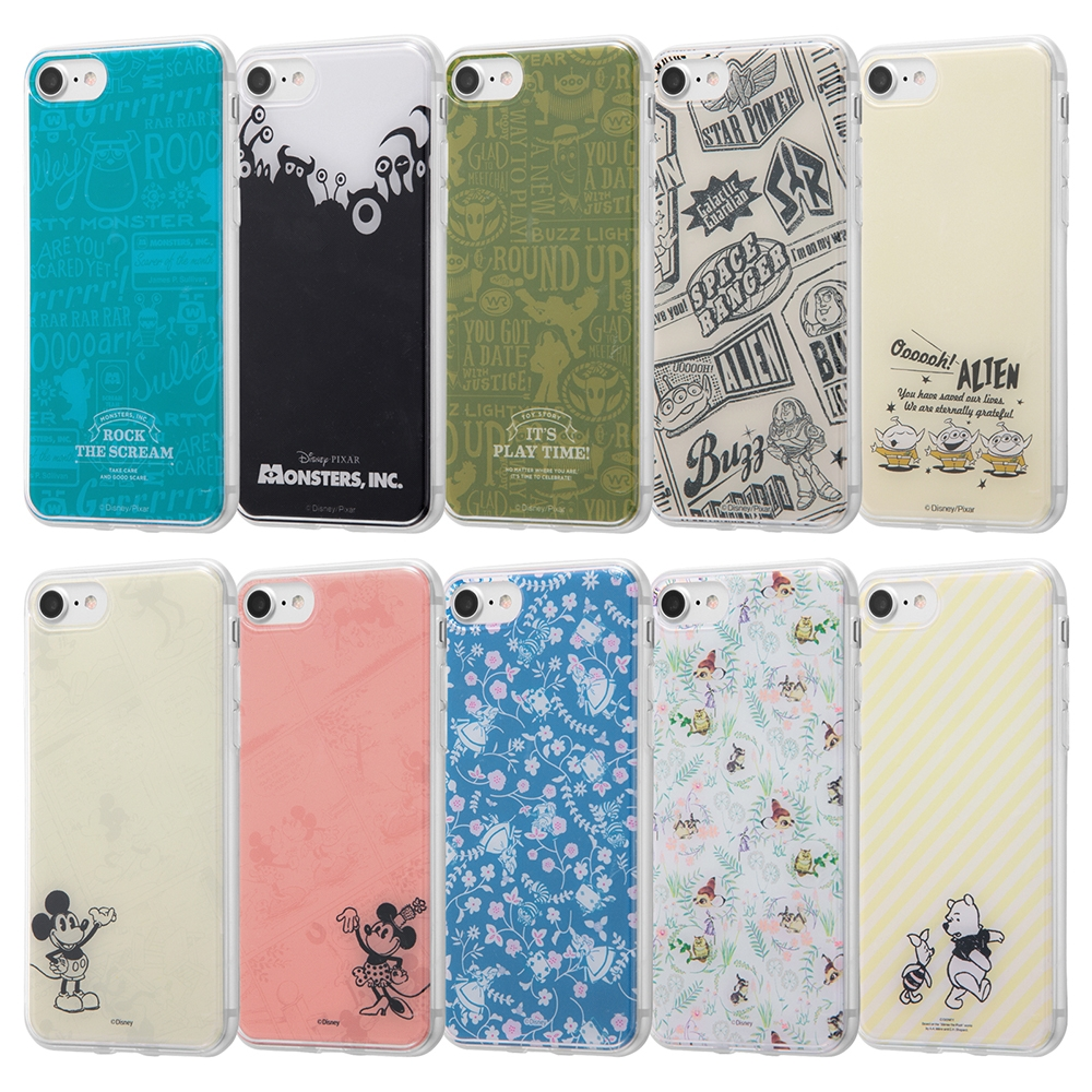 iPhone SE(第2世代)/iPhone 8/iPhone 7/TPUケース+背面パネル OTONA モンスターズインク11【受注生産】