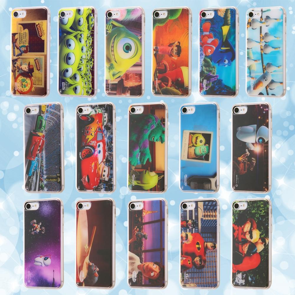 iPhone SE(第2世代)/iPhone 8/iPhone 7カーズ/TPUケース+背面パネル /カーズ4【受注生産】