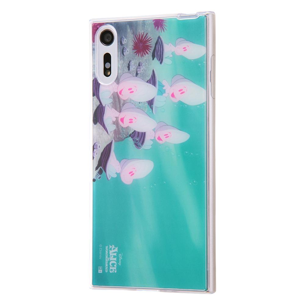 Xperia XZ TPUケース+背面パネル ふしぎの国のアリス9 名場面【受注生産】