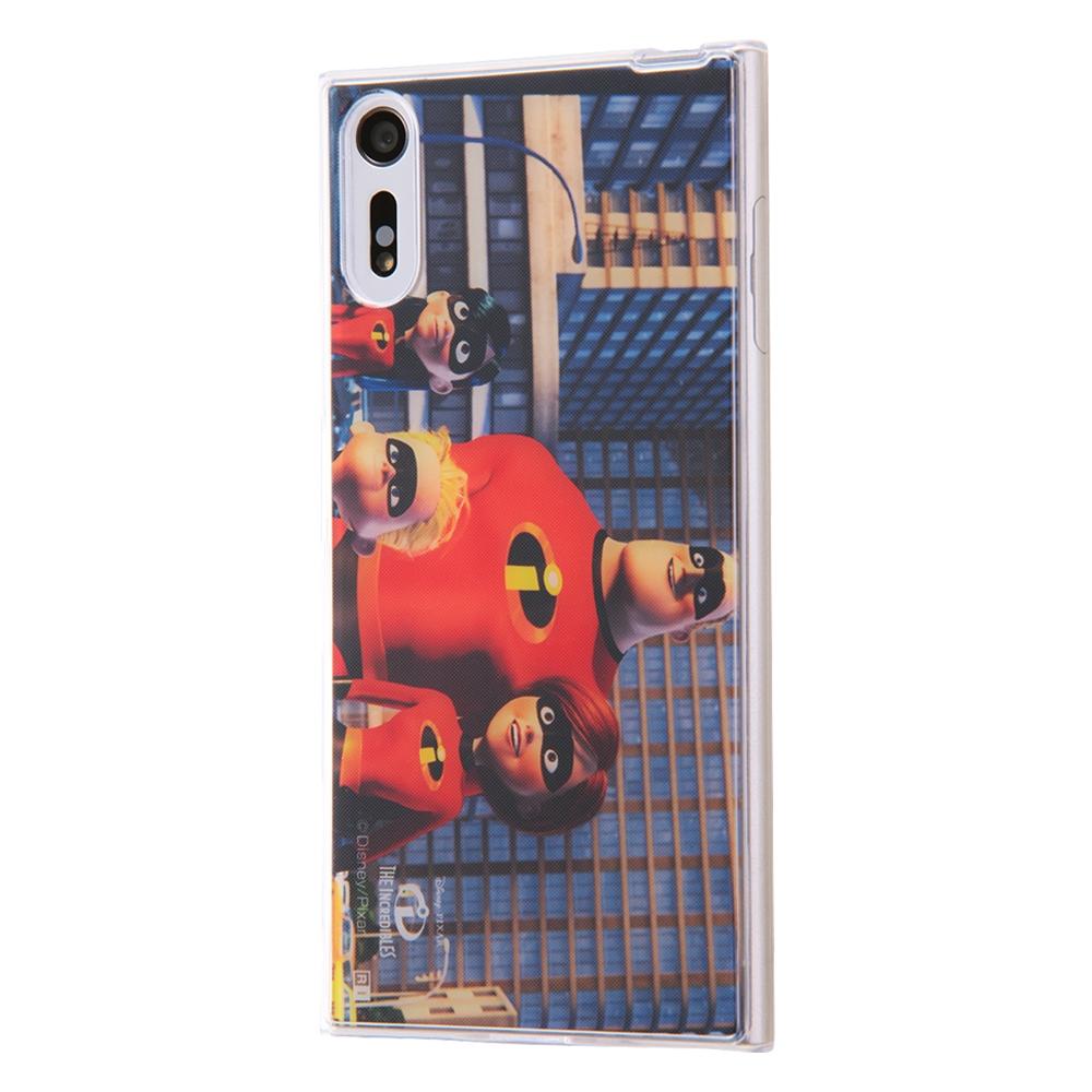 Xperia XZ TPUケース+背面パネル Mr.インクレディブル7 名場面【受注生産】