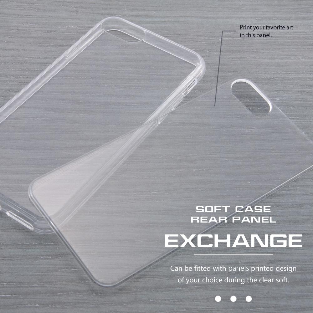 Xperia X Performance TPUケース+背面パネル 美女と野獣3 名場面【受注生産】