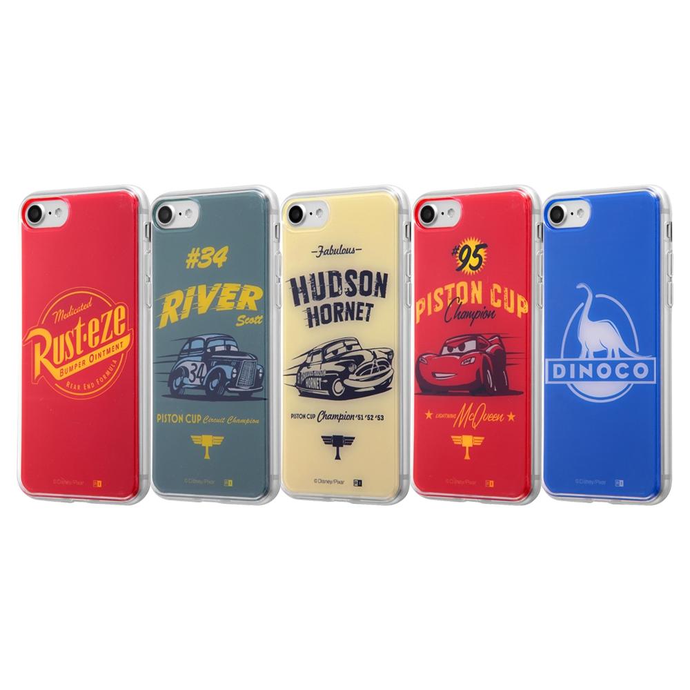 iPhone SE(第2世代)/iPhone 8/iPhone 7カーズ3/TPUケース+背面パネル /カーズ14【受注生産】
