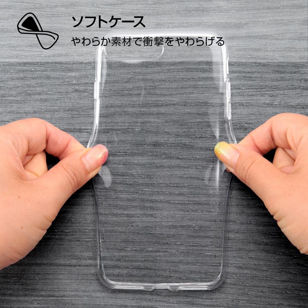 iPhone 7 Plus/8 Plus/TPUケース+背面パネル OTONA モンスターズ・インク14【受注生産】