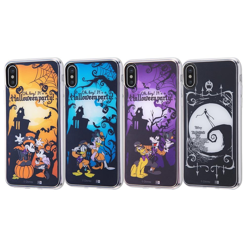iPhone XS/X ディズニーキャラクター/TPUケース+背面パネル/『ディズニーハロウィン』_1【受注生産】