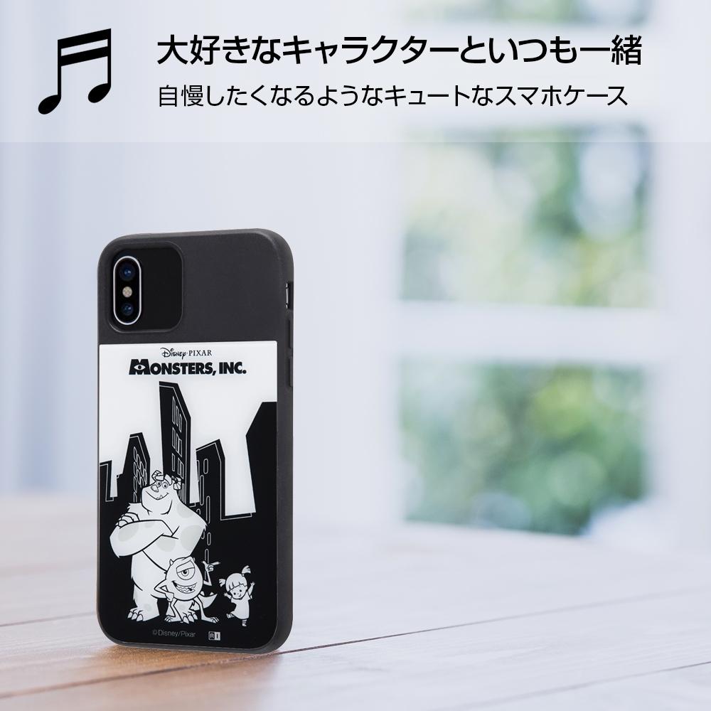 iPhone X/iPhone XS ディズニーキャラクター/耐衝撃ケース キャトル パネル/『モンスターズ・インク』_2【受注生産】