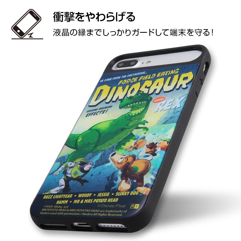 iPhone 8 Plus/7 Plus/6s Plus/6 Plus ディズニーキャラクター/耐衝撃ケース キャトル パネル/『トイ・ストーリー』_1【受注生産】