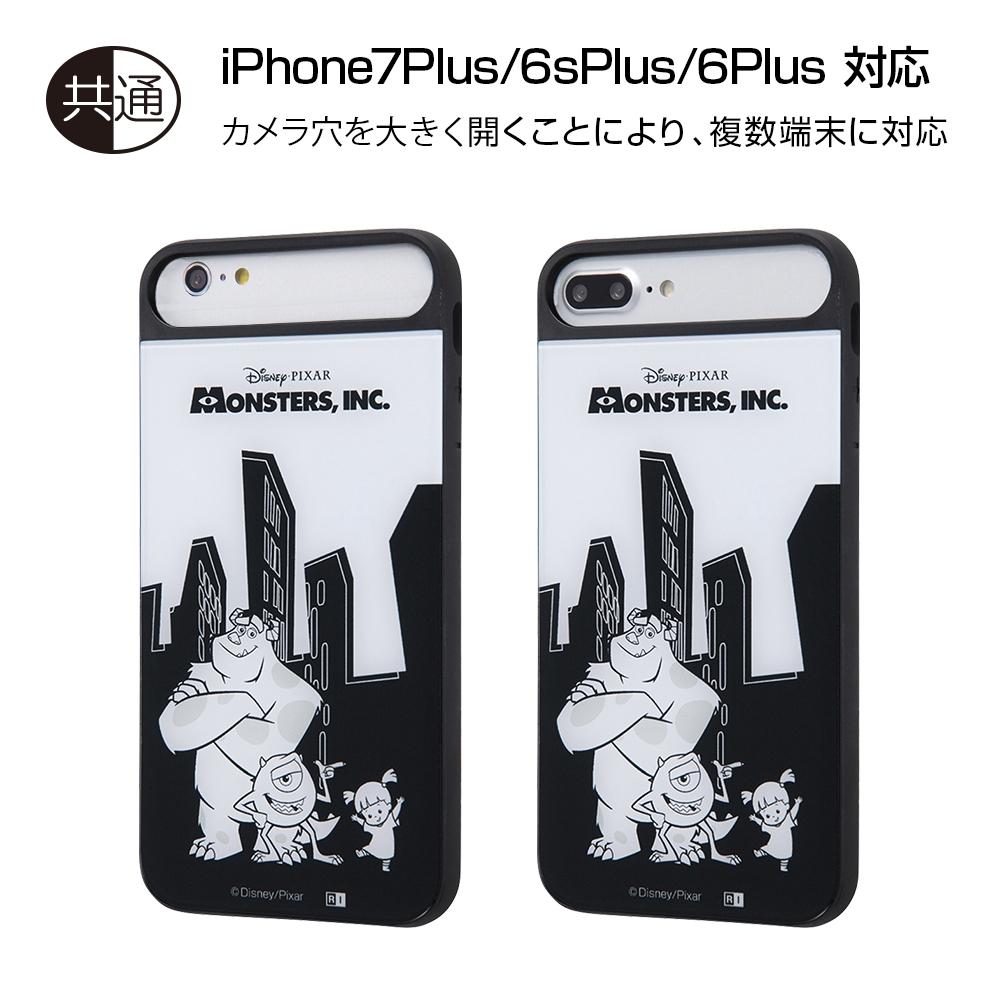 iPhone 8 Plus/7 Plus/6s Plus/6 Plus ディズニーキャラクター/耐衝撃ケース キャトル パネル/『モンスターズ・インク』_1【受注生産】