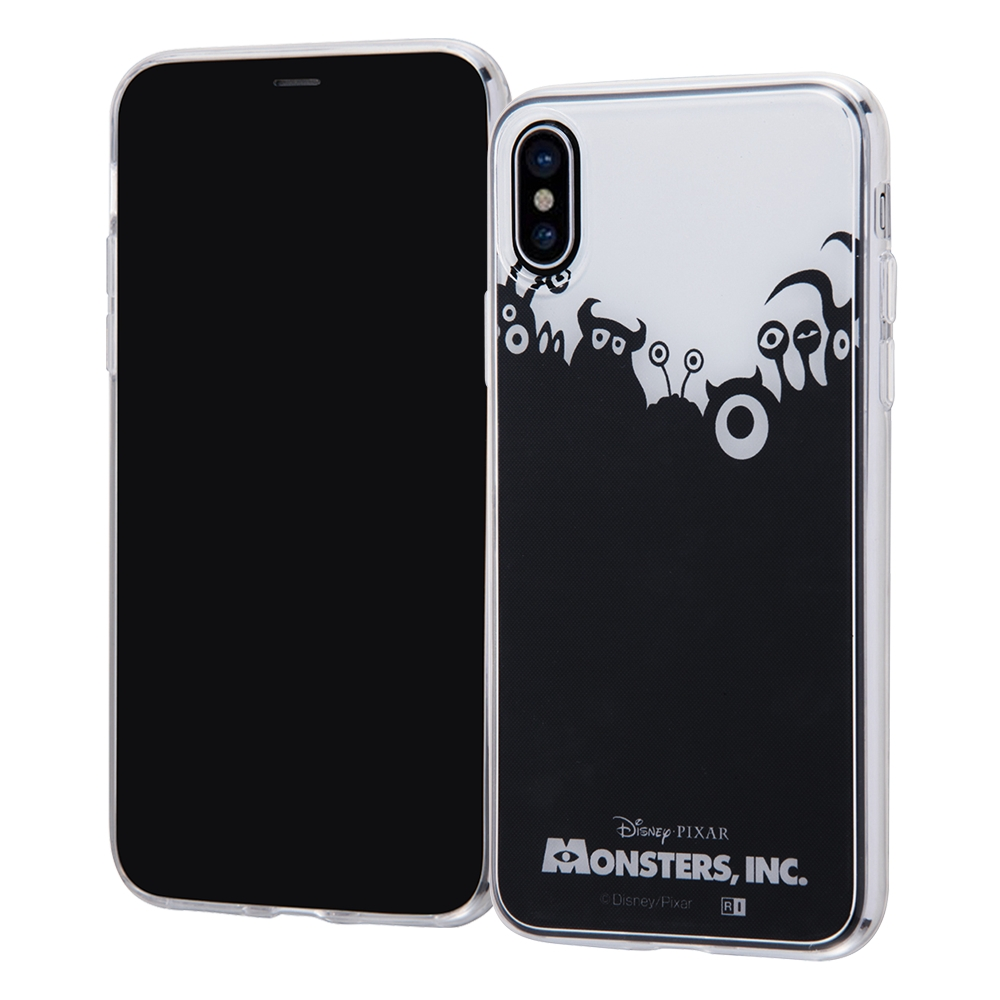 iPhone X/iPhone XS ディズニー・ピクサーキャラクター/TPUケース+背面パネル/『モンスターズ・インク』_15【受注生産】