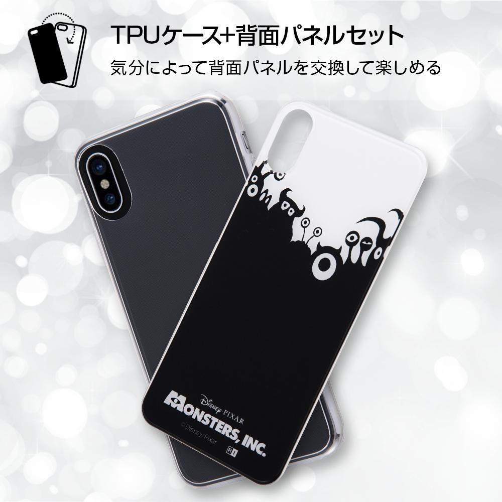 iPhone X/iPhone XS ディズニー・ピクサーキャラクター/TPUケース+背面パネル/『モンスターズ・インク』_21【受注生産】