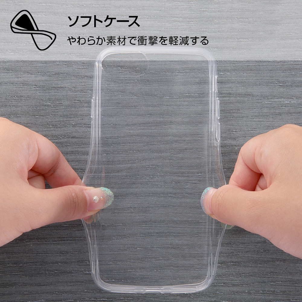 iPhone SE(第2世代)/8/7/ ディズニーキャラクター/TPUケース+背面パネル/『ヴィランズ』_1【受注生産】