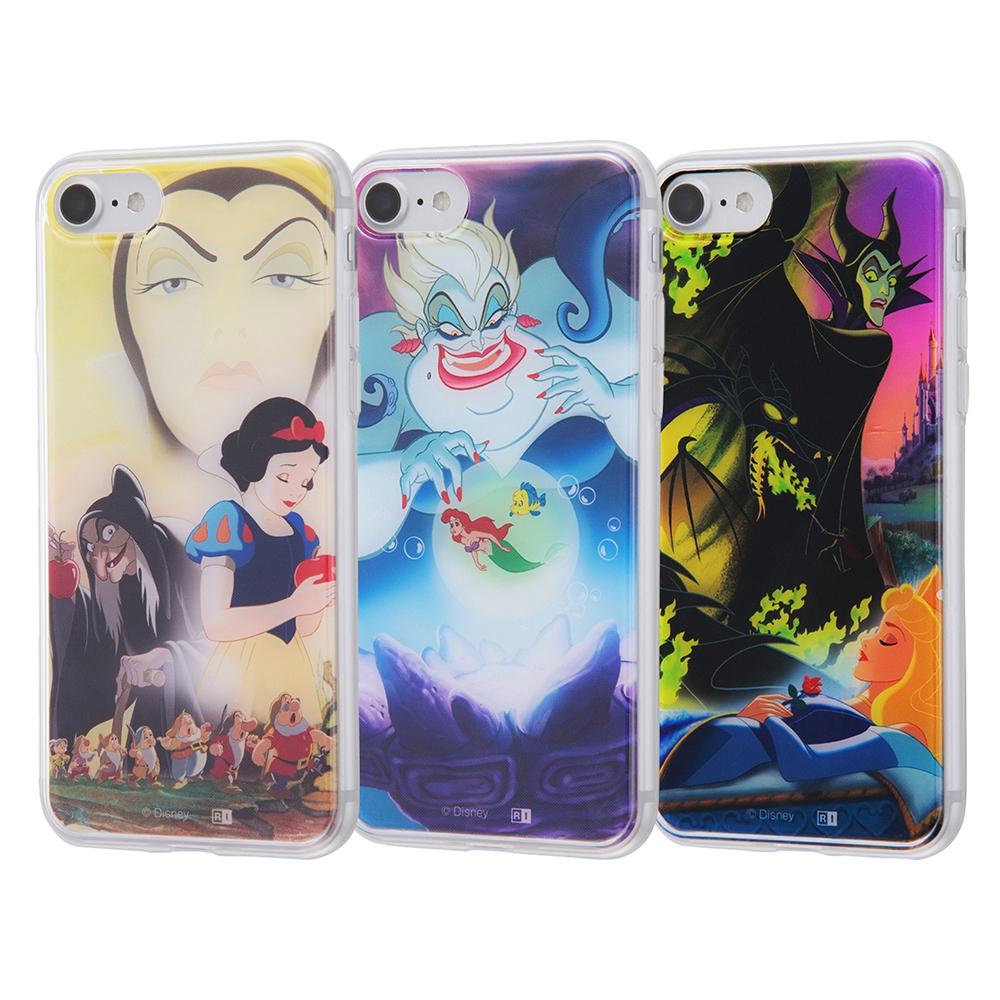 iPhone SE(第2世代)/8/7/ ディズニーキャラクター/TPUケース+背面パネル/『ヴィランズ』_2【受注生産】