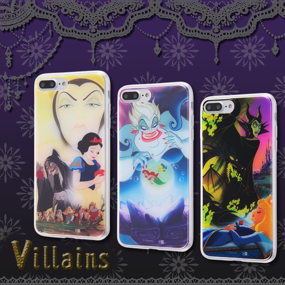 iPhone 8 Plus/7 Plus ディズニーキャラクター/TPUケース+背面パネル/『ヴィランズ』_1【受注生産】