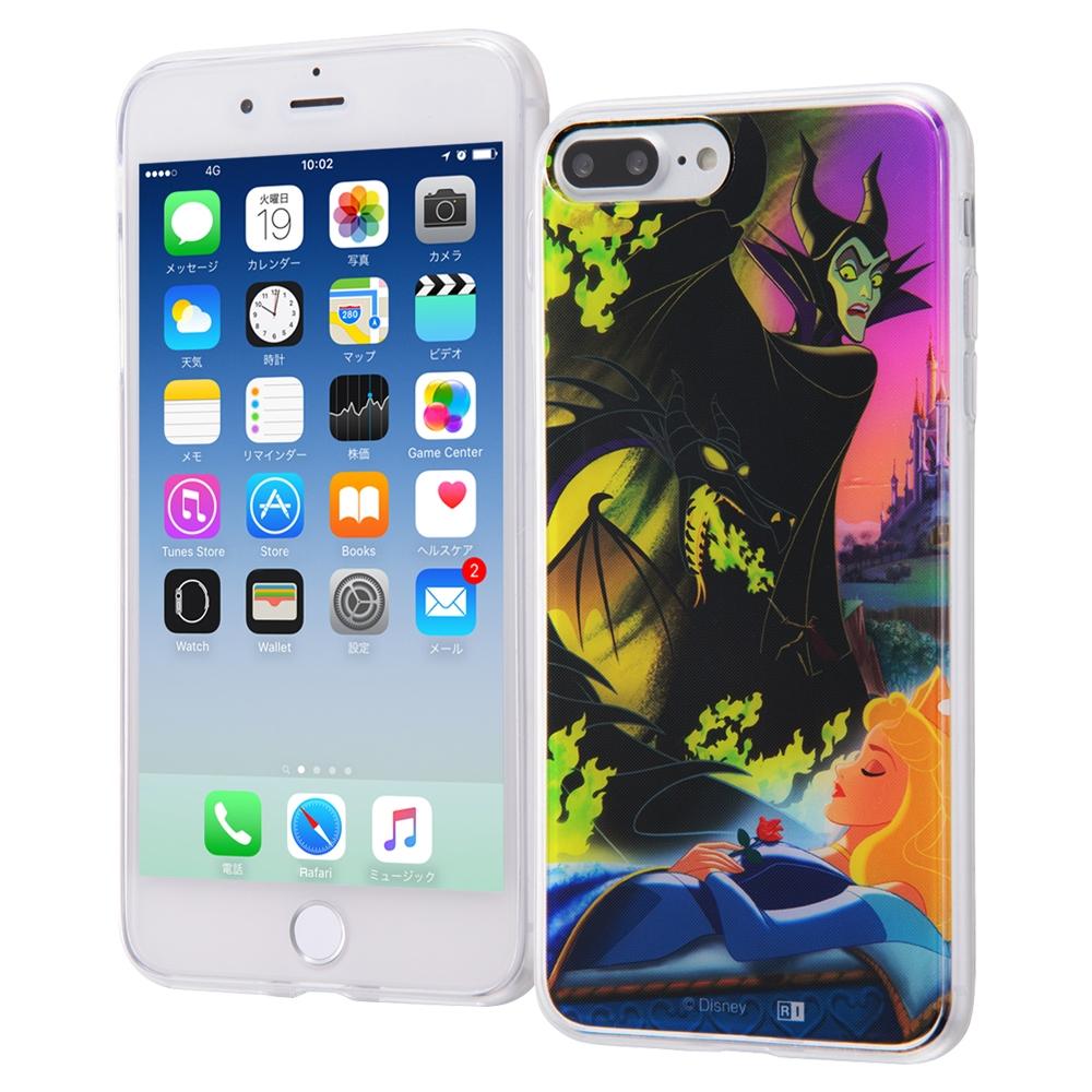 iPhone 8 Plus/7 Plus ディズニーキャラクター/TPUケース+背面パネル/『ヴィランズ』_3【受注生産】