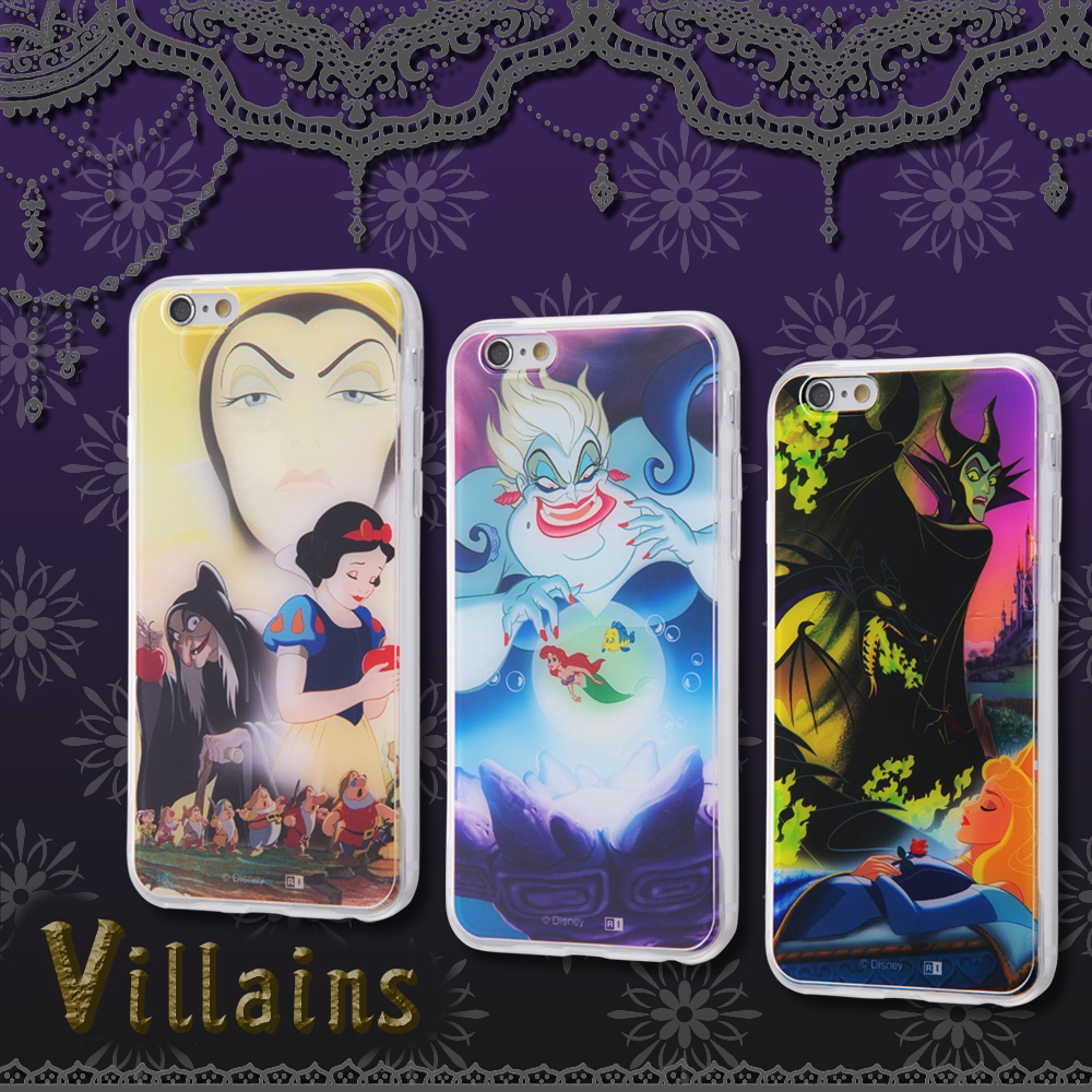 iPhone 6s/6 ディズニーキャラクター/TPUケース+背面パネル/『ヴィランズ』_3【受注生産】