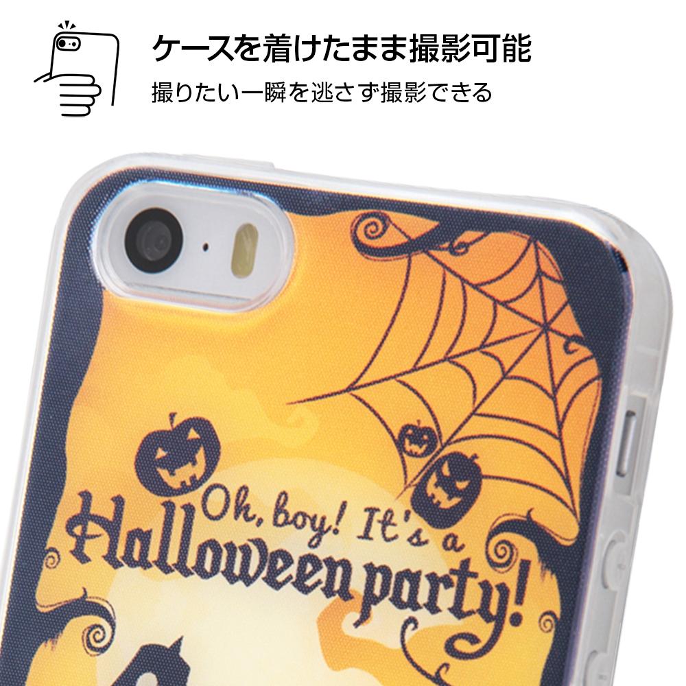 iPhone SE/5s/5 ディズニーキャラクター/TPUケース+背面パネル/『ディズニーハロウィン』_3【受注生産】