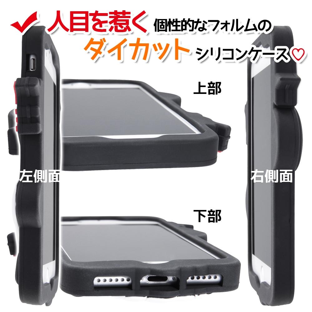 iPhone SE(第2世代)/8/7/6s/6ディズニーキャラクター/シリコンダイカット/ミッキー