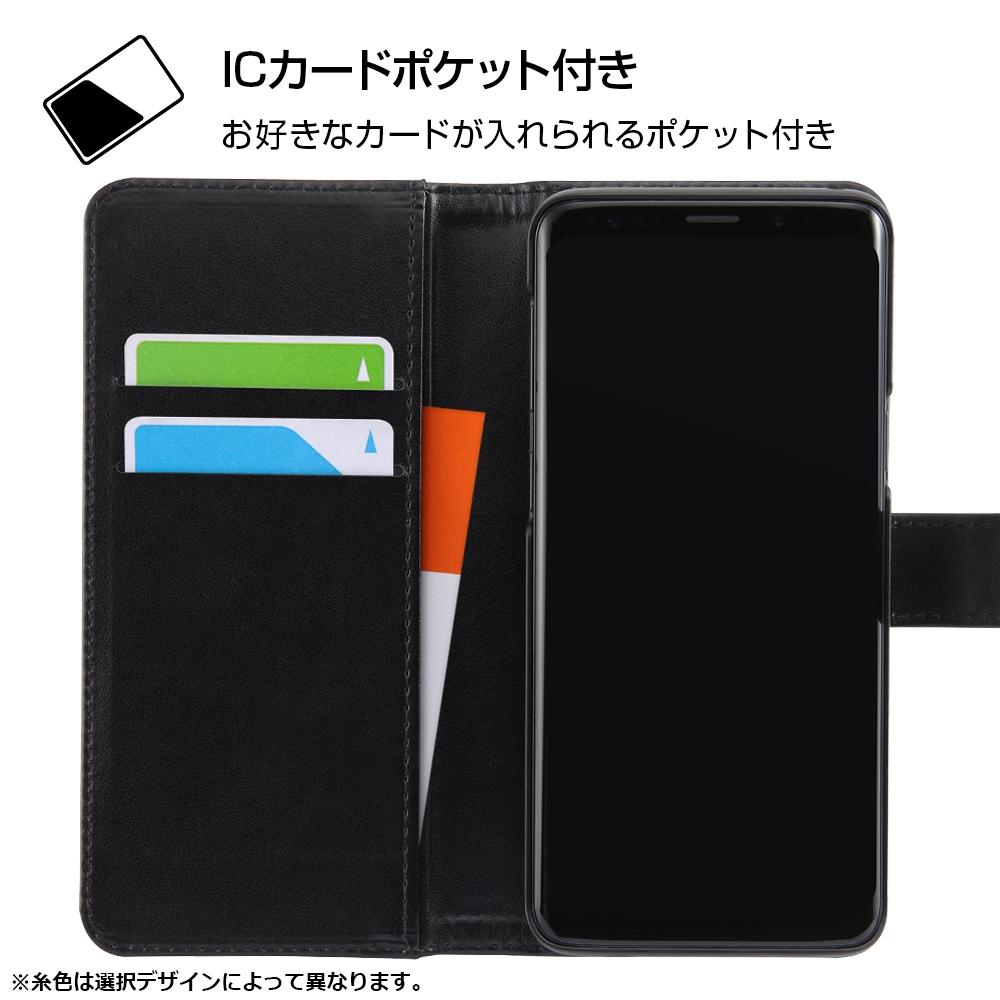 Galaxy S9 『ディズニーキャラクター』/手帳型アートケース マグネット/『ドナルド』_001