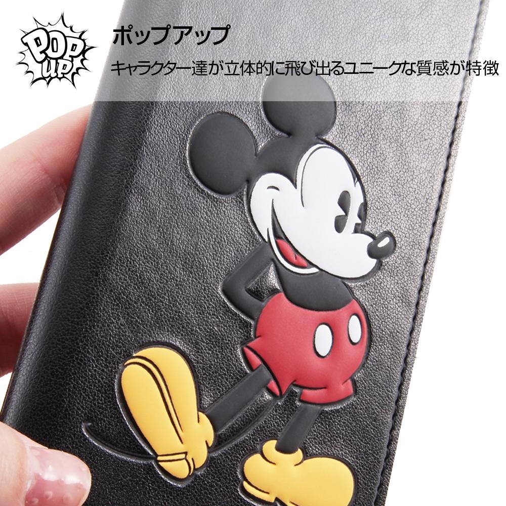Galaxy S9 『ディズニーキャラクター』/手帳型ケース ポップアップ スタンディング/ミッキー