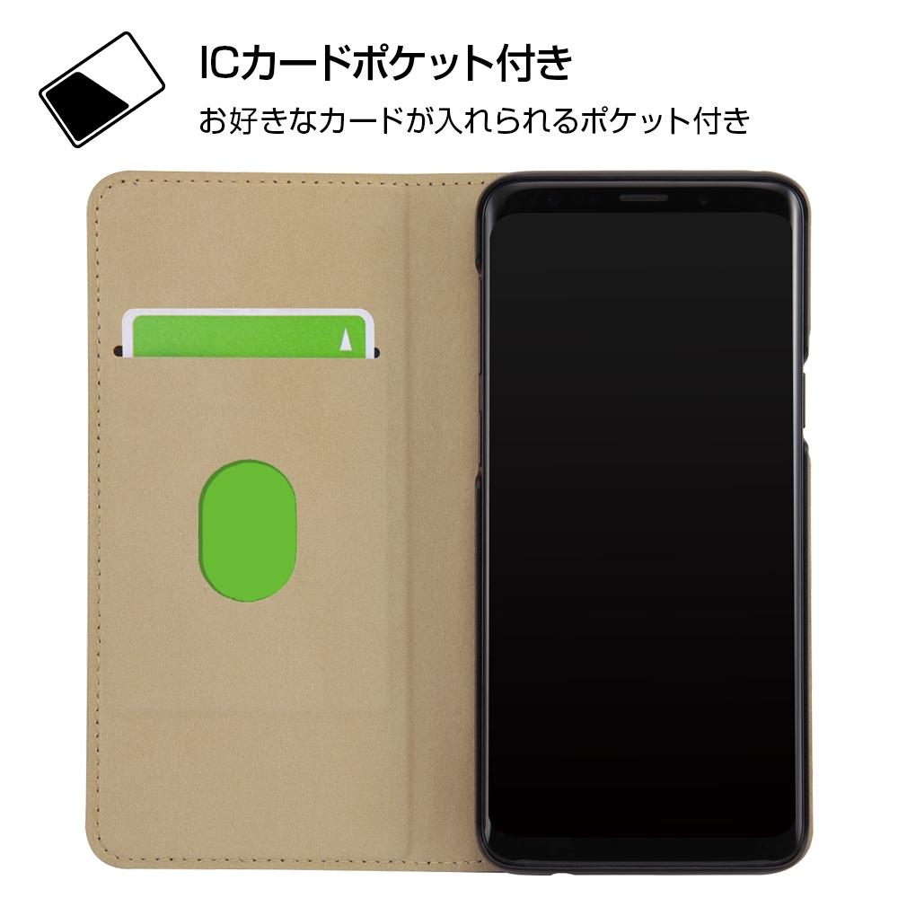 Galaxy S9 『ディズニーキャラクター』/手帳型ケース ポップアップ スタンディング/プー