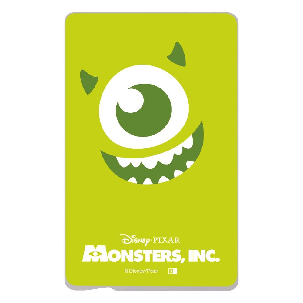 『ディズニー・ピクサーキャラクター』/ ICカード ステッカー/『モンスターズ・インク/クローズアップ マイク』
