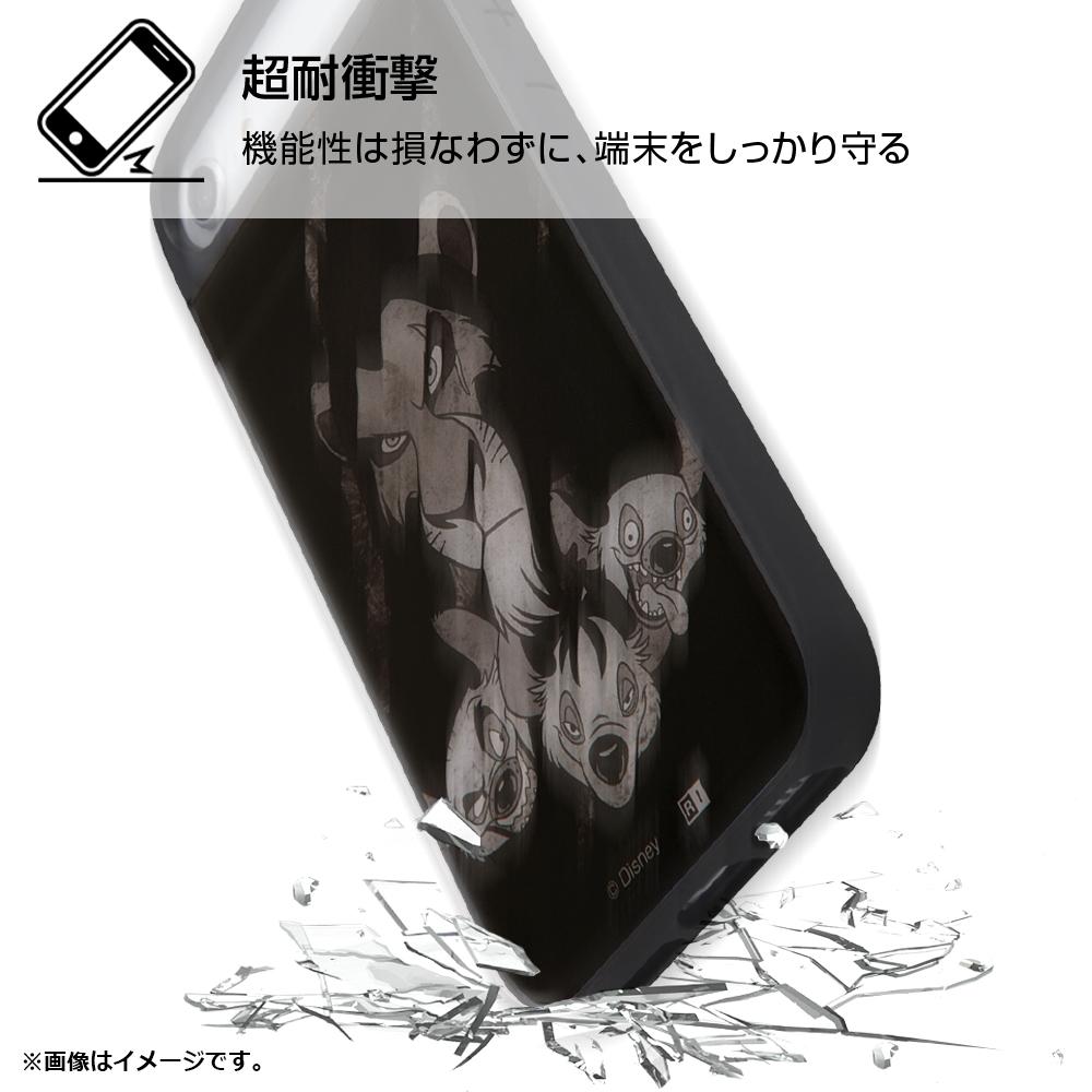 iPhone SE(第2世代)/8/7/6s/6『ディズニーキャラクター』/耐衝撃ケース キャトル パネル/『ライオン・キング/Villains』【受注生産】