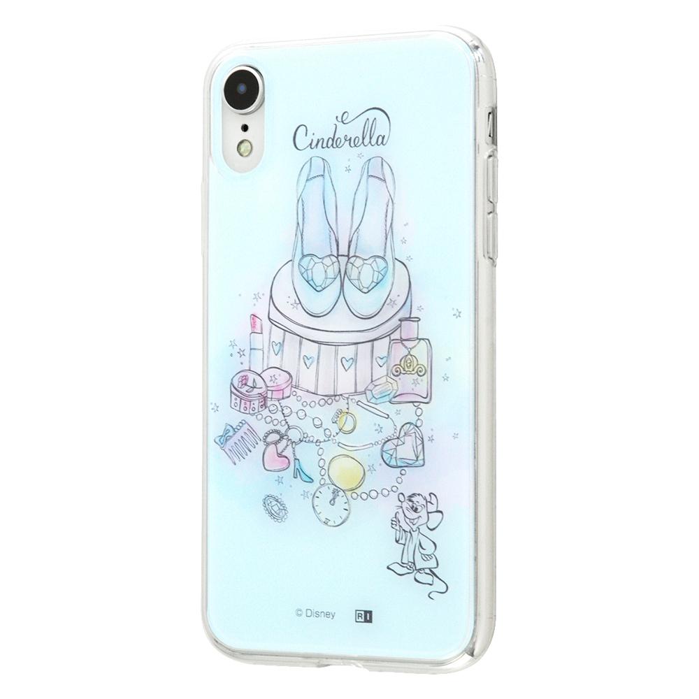 iPhone XR /『ディズニーキャラクター OTONA』/TPUケース+背面パネル/『シンデレラ』_11【受注生産】