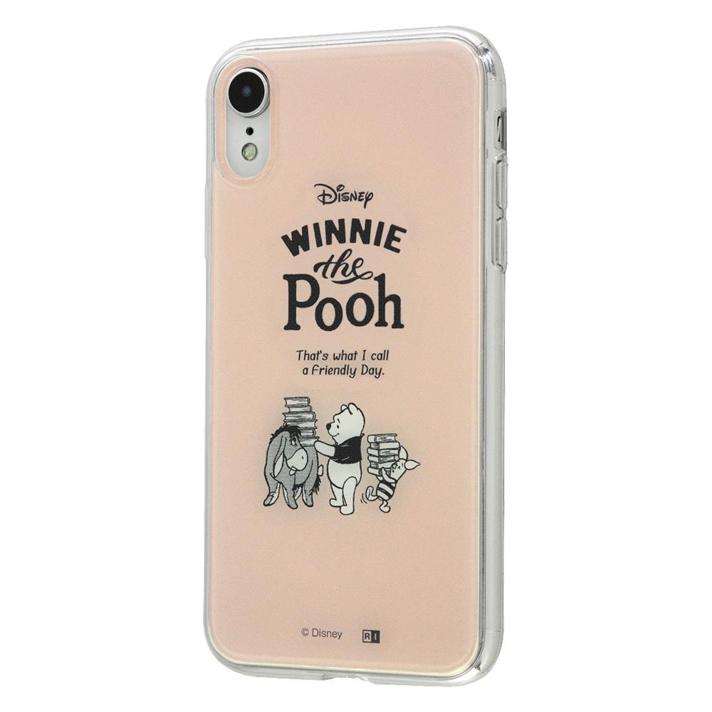 iPhone XR /『ディズニーキャラクター』/TPUケース+背面パネル/『くまのプーさん』_30【受注生産】