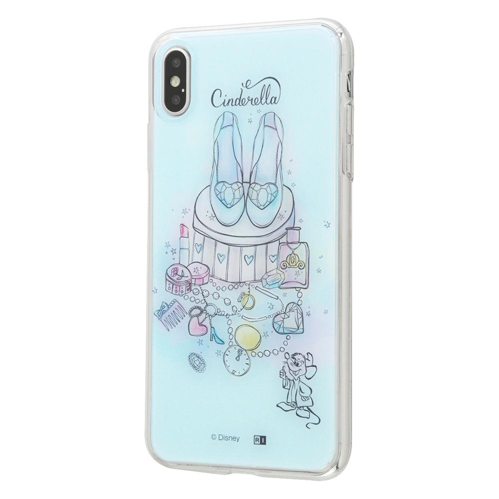 iPhone XS Max /『ディズニーキャラクター OTONA』/TPUケース+背面パネル/『シンデレラ』_11【受注生産】
